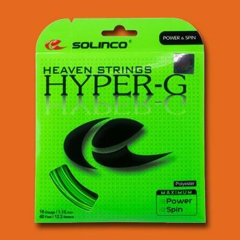 Solinco Hyper-G Tennissaite Besaitungsservice