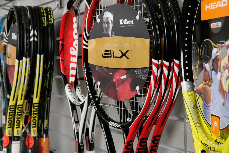 Racketprofis Berlin Testschläger Tennis Badminton Squash