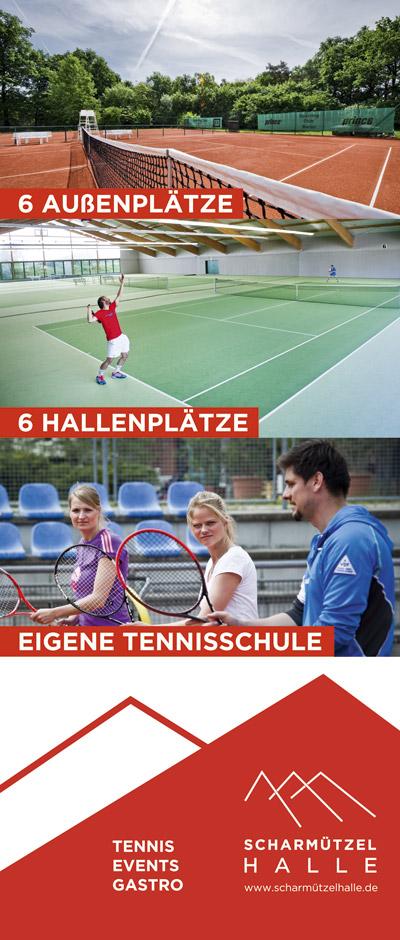 Scharmützelhalle Tenniszentrum Banner