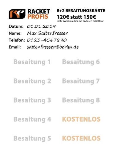 Besaitungsservice Berlin Racketprofis Besaitungskarte
